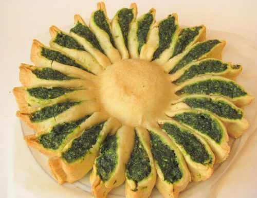 Torta salata girasole: facile facile….buona buona